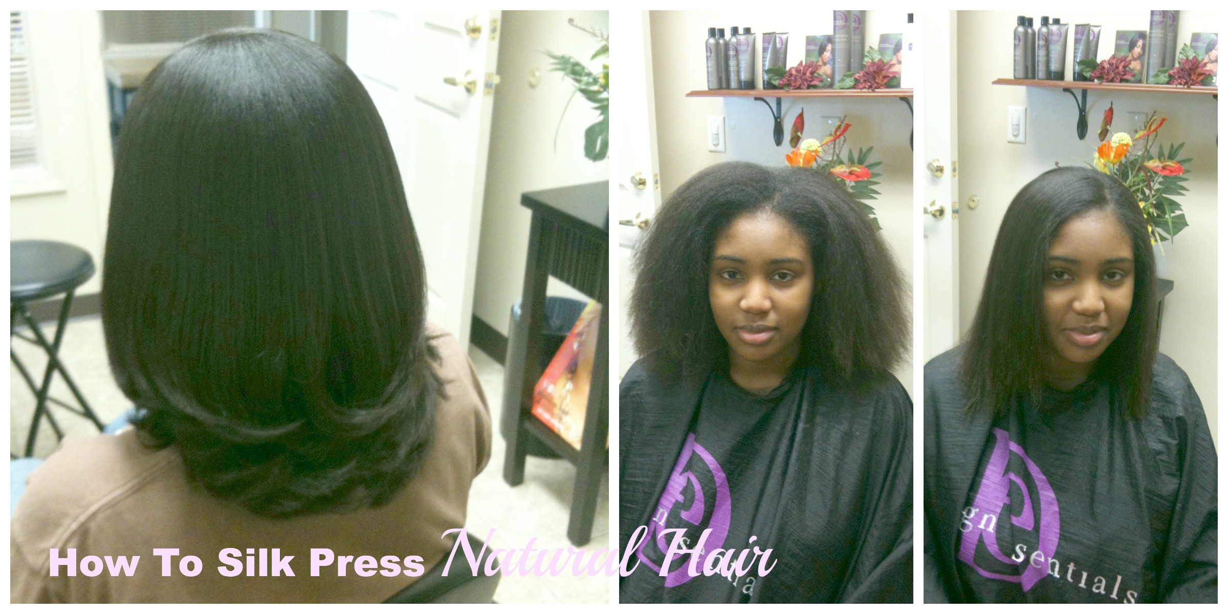 Silk Press Straightening Natural Hair Natural Hair Rules