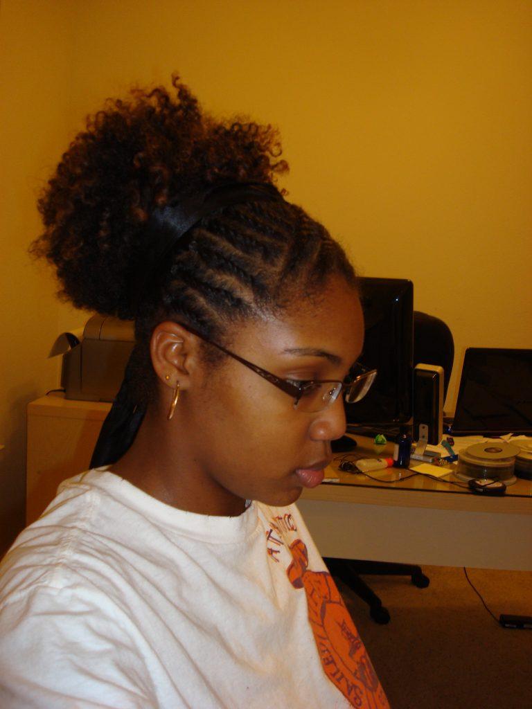 Surprising Natural Updo Hairstyles Black Kids Hairstyles Braids Short Hairstyles For Black Women Fulllsitofus