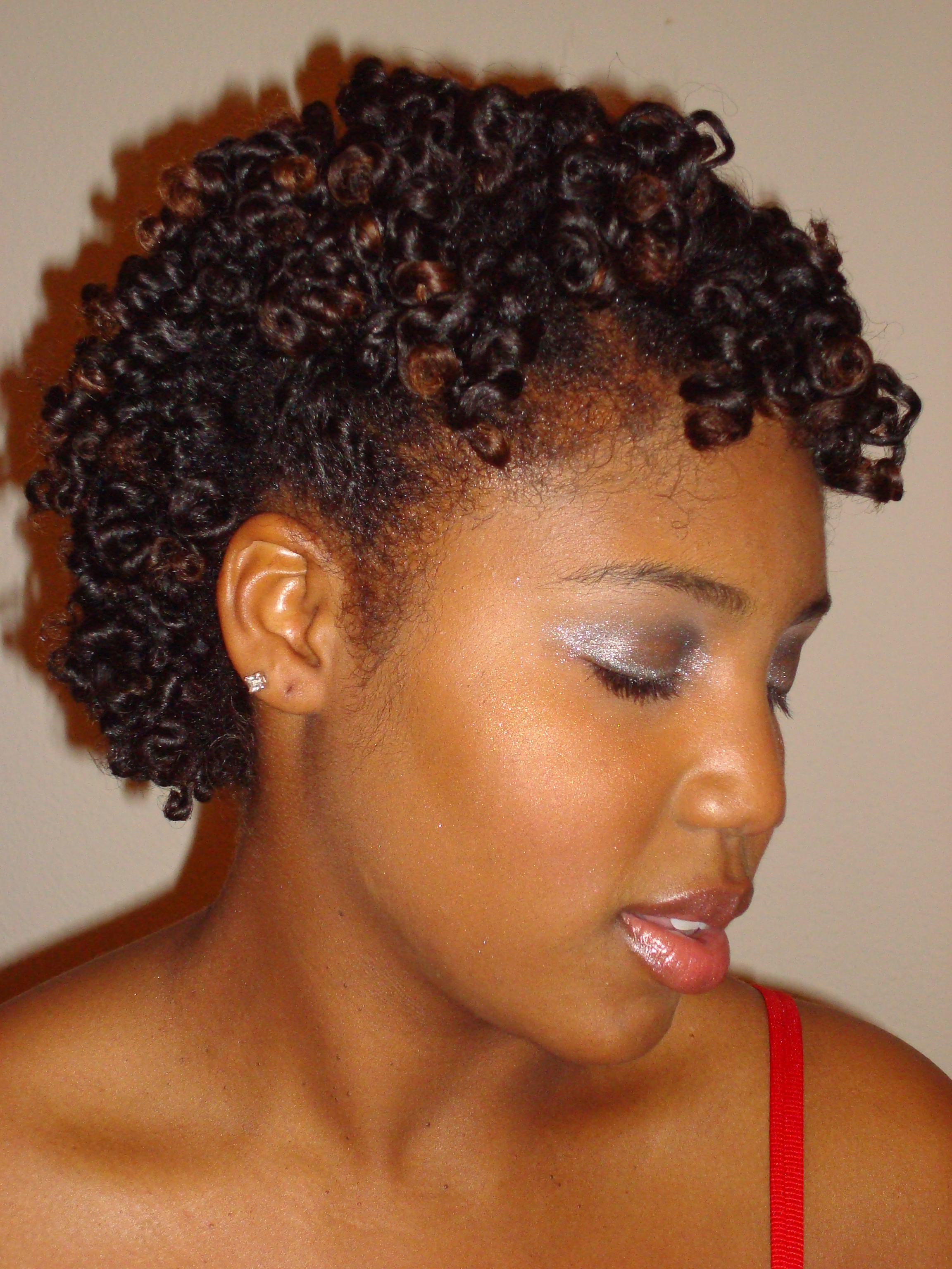 Natural Twist Hair Styles for Black Women