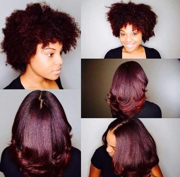 Healthy Ways To Straighten African American Natural Hair
