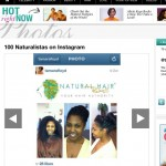 100 Naturalistas on Instagram via Essence.com