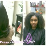 Silk: Straightening Natural Hair