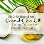 My Coconut Olive Oil Mix