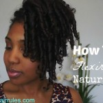 How To: Flexi Rods on Natural Hair