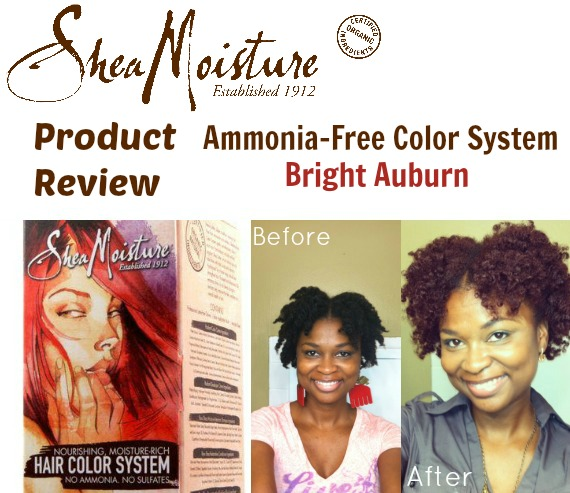 SheaMoisture AmmoniaFree Hair Color System Review