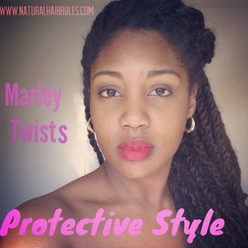 natural hair rules protective styling protective styling with marley twists hair 3180 | Protective Styling With Marley Twists