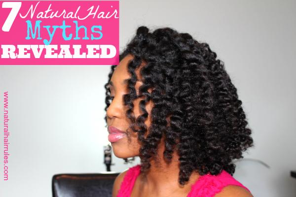 7 Natural Hair Myths Revealed