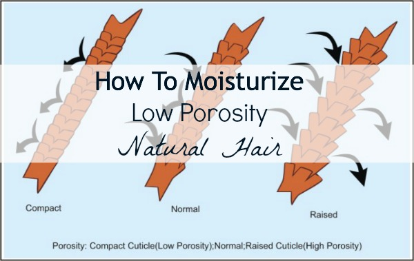 Natural Hair porosity chart