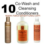 10 CoWash & Cleansing Conditioners