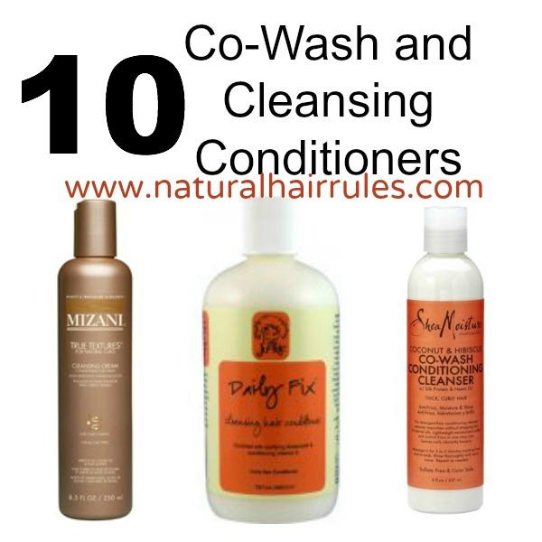 Cowash Shampoo Natural Hair