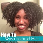 How to Wash Kinky, Natural Hair