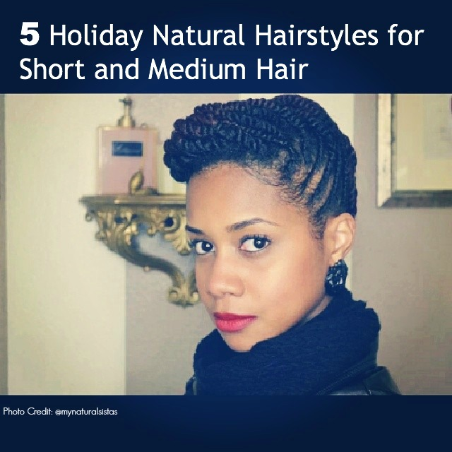 Diy protective hairstyles for short natural hair