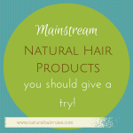 5 Mainstream Hair Products You Should Try