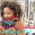 4 Quick Fixes To Revive Dry Winter Hair