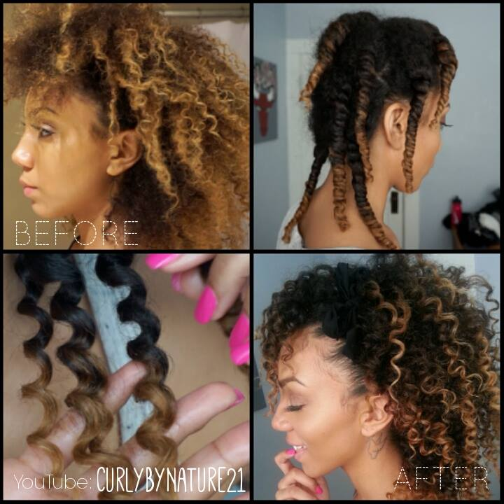 How To Get Perfect 3 Strand Twist Out Results on Natural Hair ...