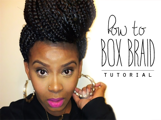 DIY Poetic Justice Box Braids | Natural Hair Rules!!!