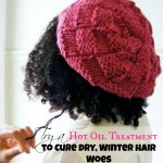 Cure Dry Winter Hair with a Hot Oil Treatment