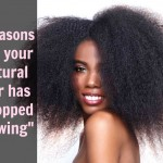 7 Reasons Why Your Natural Hair Appears To Have 'Stopped Growing'