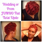 Wedding/Prom JUMBO Flat Twist Updos Perfect For Any Season