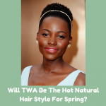 Will TWA Be The Hot Natural Hair Style For Spring?