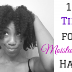 10 Tips for Moisturizing Natural Hair
