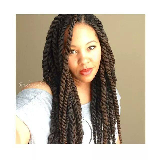 Marley/Havana Twists with Invisible Roots | Natural Hair