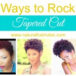 6 Ways to Rock a Tapered Cut