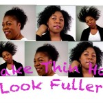 5 Ways to Make Thin/Fine Natural Hair Thicker