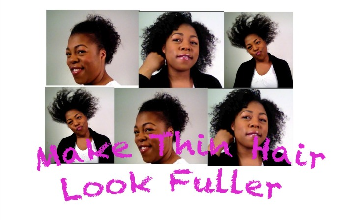 how to add volume to fine hair naturally
