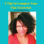 4 Tips to Conquer Your Next Flat Twist Out