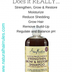 Does SheaMoisture Jamaican Black Castor Oil Shampoo REALLY Work???