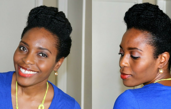 Hairstyles For Short Hair 4c: 4 Quick Natural Hairstyles For 4C Hair