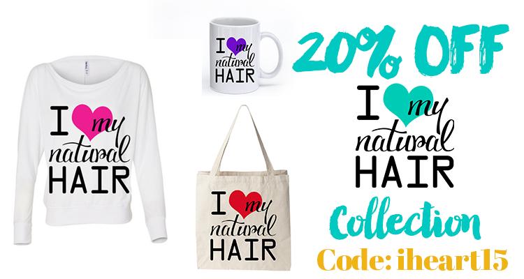20% OFF Natural Hair Tees and More