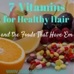 7 Vitamins for Hair Health and the Foods That Have 'Em