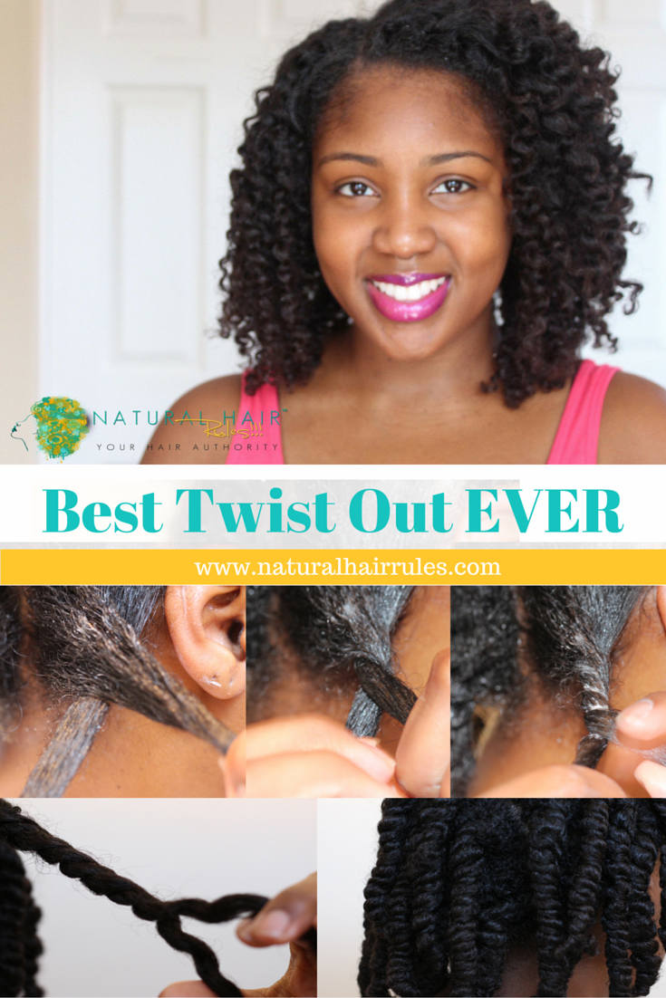 Natural Hairstyle: 5 Easy Steps to Your BEST Two Strand ...