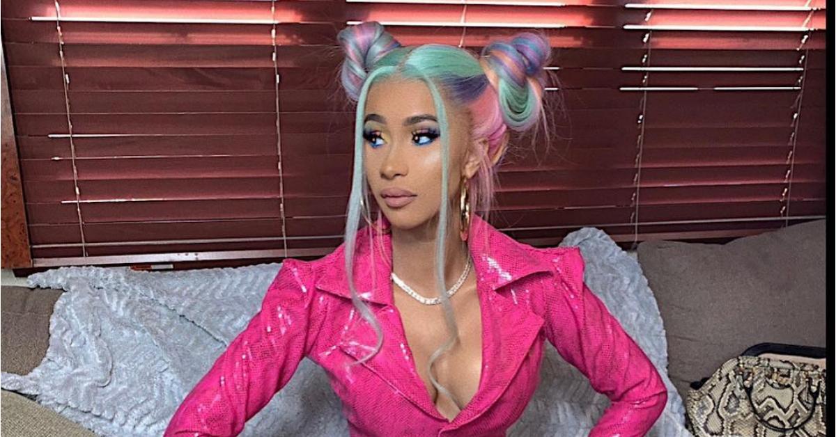 Cardi B Look Alike: Cardi B Show Off Natural Hair On Instagram